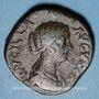 Monnaies Lucille, épouse de Lucius Vérus (+183). Sesterce. Rome, 164-166. R/: Vénus debout à gauche