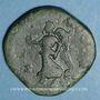 Monnaies Lucius Vérus (161-169). Sesterce. Rome, 167. R/: Victoire