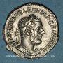 Monnaies Macrin (217-218). Denier. Rome, 217. R/: la Sécurité