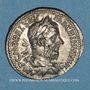 Monnaies Macrin (217-218). Denier. Rome, 218. R/: l'Equité
