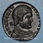 Monnaies Magnence (350-353). Maiorina. Lyon. 1ère officine, 351-352. R/: deux Victoires