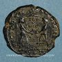 Monnaies Magnence (350-353). Maiorina. Rome, 7e officine, 350-351. R/: deux Victoires