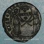 Monnaies Magnence (350-353). Maiorina. Trèves, 1ère officine, 350. R/: deux Victoires