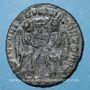 Monnaies Magnence (350-353). Maiorina. Trèves, 1ère officine, 352. R/: deux Victoires