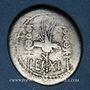 Monnaies Marc Antoine (vers 83-30 av. J-C). Denier émis pour la 11e légion