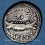 Monnaies Marc Antoine (vers 83-30 av. J-C). Denier émis pour la 7e légion, vers 32-31 av. J-C