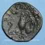 Monnaies Maxime, césar sous Maximin I Thrax (235-238). Sesterce. Rome, 235-236. R/: instruments sacerdotaux