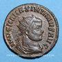 Monnaies Maximien Hercule, 1er règne (286-305). Antoninien. Cyzique, 6e officine, 290. R/: l'empereur