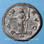 Monnaies Maximien Hercule, 1er règne (286-305). Antoninien.  Lyon, 1ère officine, 294. R/: la Paix