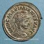 Monnaies Maximien Hercule, 1er règne (286-305). Antoninien. Lyon. 287-289. R/: Hercule
