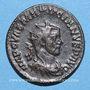 Monnaies Maximien Hercule, 1er règne (286-305). Antoninien. Lyon, 2e officine, 287. R/: Hercule