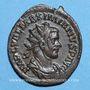 Monnaies Maximien Hercule, 1er règne (286-305). Antoninien. Lyon, 3e officine, 286. R/: Hercule