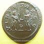 Monnaies Maximien Hercule, 1er règne (286-305). Antoninien. Lyon, 4e officine, 286. R/: Jupiter