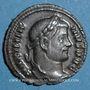 Monnaies Maximien Hercule, 1er règne (286-305). Argenteus. Rome, 294. R/: quatre soldats