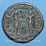 Monnaies Maximien Hercule, 1er règne (286-305). Bronze radié. Alexandrie 3e officine, 299-297. R/: l'empereur