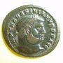 Monnaies Maximien Hercule, 1er règne (286-305). Follis. Héraclée, 3e officine, 296. R/: Génie. Inédit ?