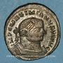 Monnaies Maximien Hercule, 1er règne (286-305). Follis. Londres, 303-305. R/: Génie