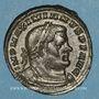 Monnaies Maximien Hercule, 1er règne (286-305). Follis. Londres, vers 303. R/: Génie