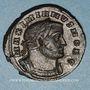 Monnaies Maximien Hercule, 1er règne (286-305). Follis. Lyon, 1ère officine, 302-304. R/: Génie