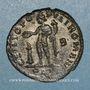 Monnaies Maximien Hercule, 1er règne (286-305). Follis. Lyon, 2e officine, 301-303. R/: Génie