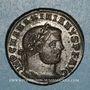 Monnaies Maximien Hercule, 1er règne (286-305). Follis. Thessalonique, 1ère officine. 298-301. R/: Génie