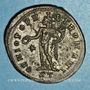 Monnaies Maximien Hercule, 1er règne (286-305). Follis. Ticinum, 2e officine. 296-297. R/: Génie