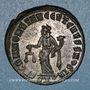 Monnaies Maximien Hercule, 1er règne (286-305). Follis. Ticinum, 2e officine, 30-303. R/: la Monnaie