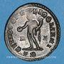 Monnaies Maximien Hercule, 1er règne (286-305). Follis. Trèves, 1ère officine. 296-297. R/: Génie