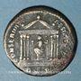 Monnaies Maximien Hercule, 2e règne (306-308). Follis. Rome, 1ère officine, 307. R/: Rome