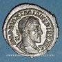 Monnaies Maximin I Thrax (235-238). Denier. Rome, 235-236. R/: la Victoire courant à droite