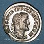 Monnaies Maximin I Thrax (235-238). Denier. Rome, 237. R/: Maximen en habit militaire debout à gauche