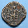 Monnaies Maximin I Thrax (235-238). Sesterce. Rome, 235-236. R/: la Santé assise à gauche