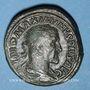 Monnaies Maximin I Thrax (235-238). Sesterce. Rome, 235-236. R/: Victoire marchant à droite
