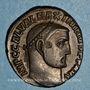 Monnaies Maximin II Daza, auguste (309-313). Follis. Alexandrie, 6e officine, 312-313. R/: Génie