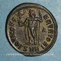 Monnaies Maximin II Daza, auguste (309-313). Follis. Nicomédie, 1ère officine. 311-313. R/: Jupiter