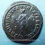 Monnaies Maximin II Daza, césar (305-308). Follis. Carthage, 4e officine, 305-306. R/: Carthage