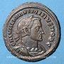 Monnaies Maximin II Daza, césar (305-308). Follis. Lyon, 1ère officine, 307. R/: Génie