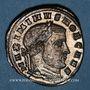 Monnaies Maximin II Daza, césar (305-308). Follis. Ticinum, 2e officine, 306-307. R/: Mars