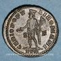 Monnaies Maximin II Daza, césar (305-308). Follis. Trèves, 1ère officine, 305-307. R/: Génie