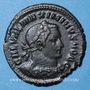 Monnaies Maximin II Daza, césar (305-308). Follis. Trèves, 1ère officine, 307. R/: Génie