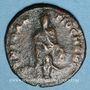 Monnaies Maximin II. Monnayage semi-autonome pour Antioche. 1/4 follis. Antioche 62e officine, 311-312