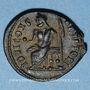 Monnaies Maximin II. Monnayage semi-autonome pour Antioche. 1/4 follis. Antioche 8e officine, 311-312