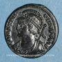 Monnaies Monnayage pour Constantinople. Centenionalis. Thessalonique, 3e officine, 330-333. R/: Victoire