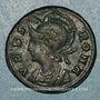 Monnaies Monnayage pour Rome. Centenionalis. Héraclée, 5e officine, 330-333. R/: la Louve