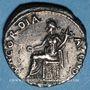 Monnaies Néron (54-68). Denier. Rome, 64-65. R/: la Concorde assise à gauche