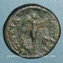 Monnaies Néron (54-68). Dupondius. Rome, 64. R/: Victoire