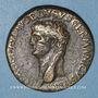 Monnaies Néron Claudius Drusus († 9 ap J-C). Sesterce frappé sous Claude, Rome, 41-42. R/: Claude