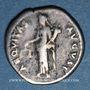 Monnaies Nerva (96-98). Denier. Rome, 97. R/: l'Equité debout à g.
