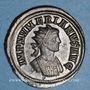 Monnaies Numérien (283-284). Antoninien. Rome, 2e officine, 283-284. R/: Jupiter coiffé de la peau de lion