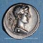 Monnaies Octave (43-27 av. J-C). Denier. Rome, 30-29 av. J-C. R/: Octave